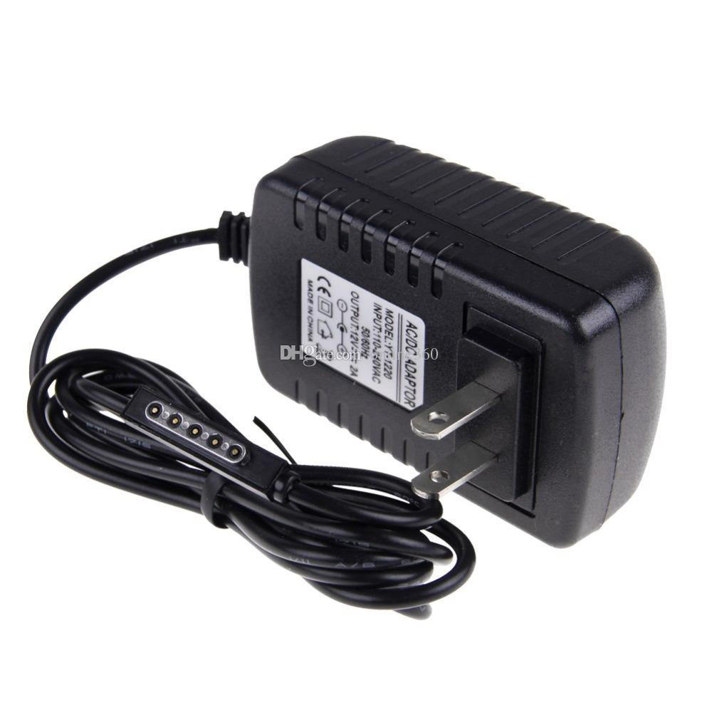 High Quality EU/US plug 12V 2A Wall Charger for Microsoft Surface RT 10.6 Tablet PC Power Supply Adapter