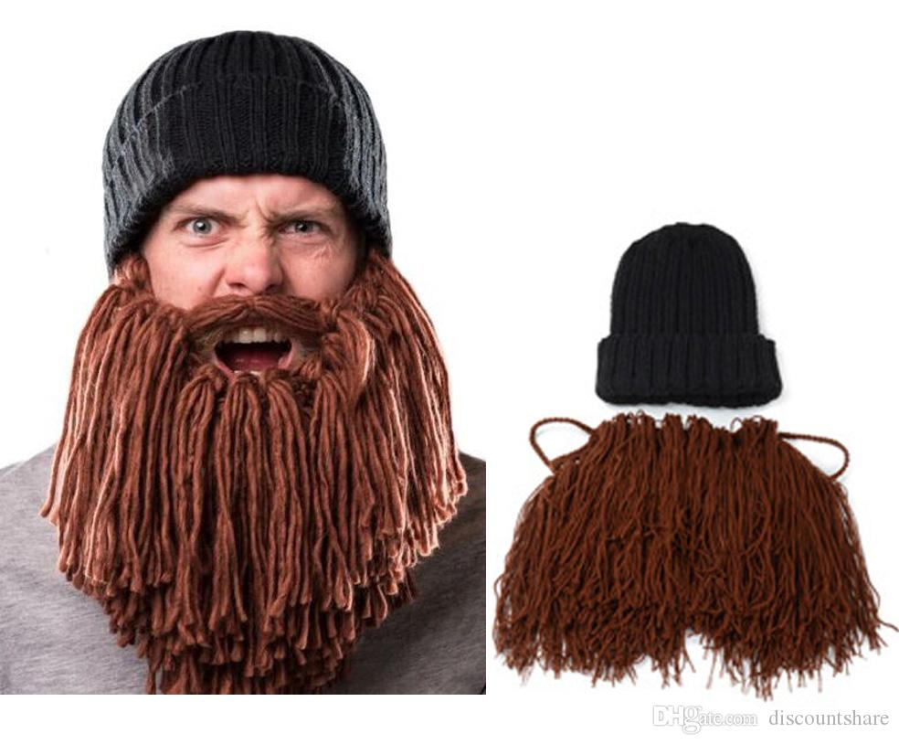 Fashion Novelty Unisex Funny Beard Mustache Winter Skiing Warm Knitted  Woolly Crocheted Face Mask Hat Cap Beanie Hats For Women Beanies For Women  From ... 4d16b02f3848