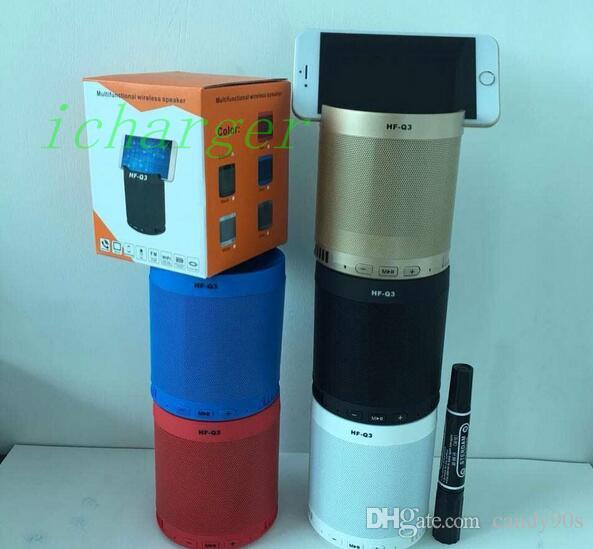 Hf Q3 Bluetooth Speakers With Holder Mini Wireless Portable Speakers ...