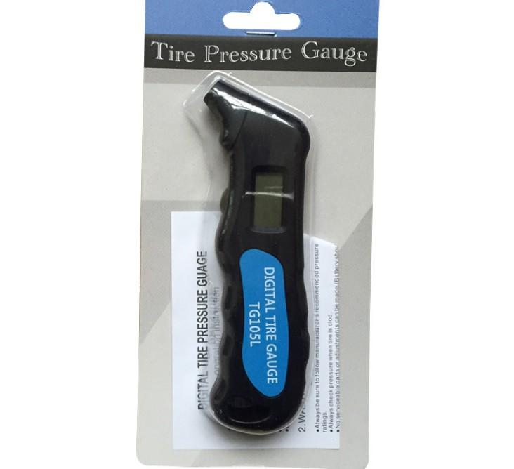 High precision Digital tire pressure gauge TG105L automobile tire pressure tire pressure gauge car with backlight display