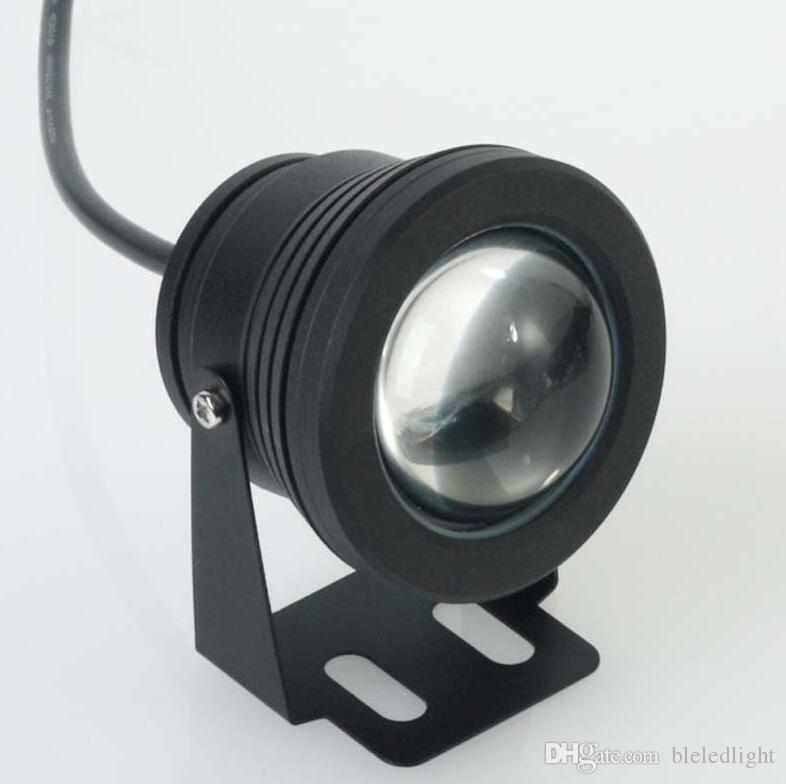 10W 12V RGB Cool vit varm vit LED Undervattenslampa IP68 Dykning ficklampa för att simma poolen Piscina Aquarium fontän