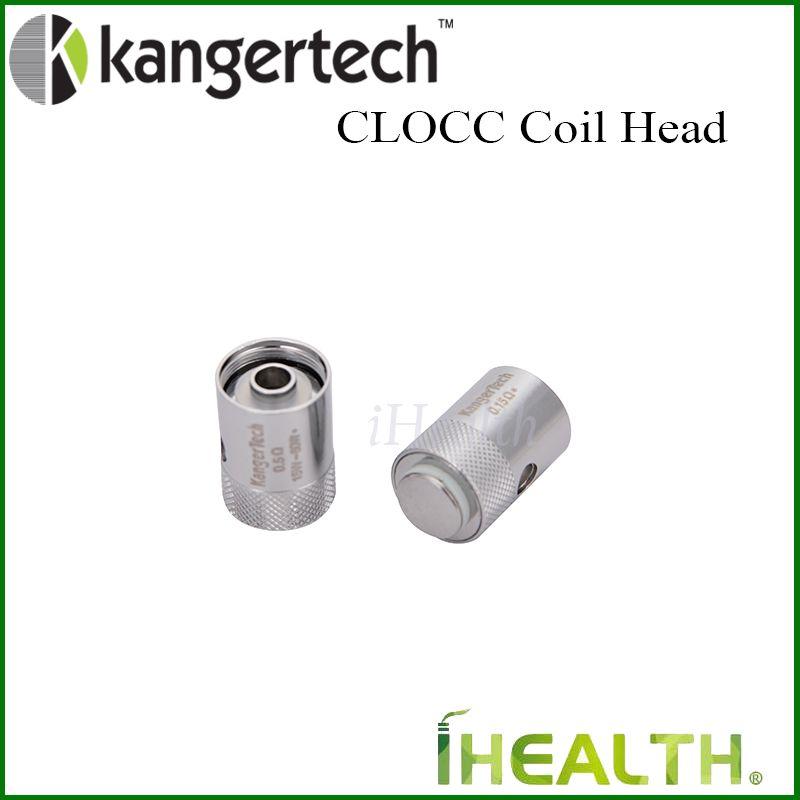 Tête de bobine de rechange de bobine de CLOCC de Kanger pour la bobine organique de coton du kitti 1.5ohm 0.15ohm 0.5ohm 1.0ohm de CLTANK Cupti 100% original