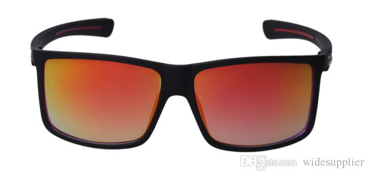 أوروبا والولايات المتحدة رجل العلامة التجارية مصمم النظارات الشمسية المستقطبة إطار نظارات ركوب الدراجات الرياضة النظارات الشمسية 8027A الشحن المجاني