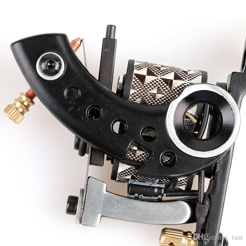 Hot! New Arrive Handmade Casting Iron Tattoo Tattoo Machine Gun Shader for Professional Tattoo Machine Gun High Quality TM8341