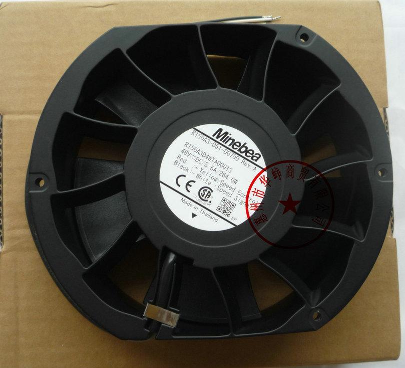 새로운 원본 NMB 15CM R150A3-051-D0790 15051 48V 5.5A 4WIRE 냉각 팬