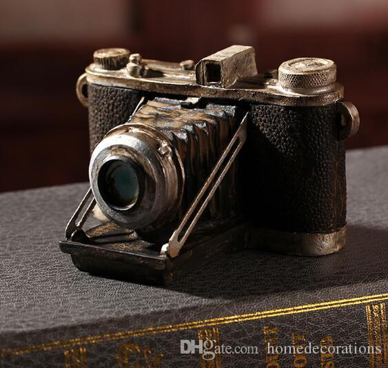 10 Style Black Shabby Chic Camera Vintage Home Decor Resin Crafts ...
