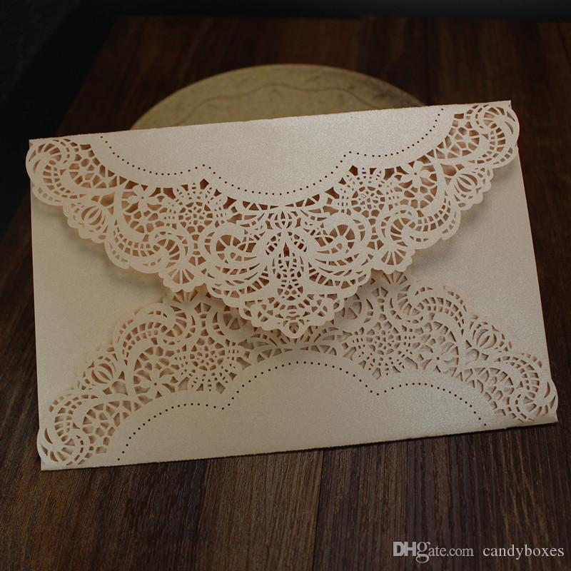 Laser Cut Wedding Invitations Cards Engagement Marriage Party Invitation  For Marriage Graduation Birthday Invites Card Free Shipping  Free Engagement Invitations