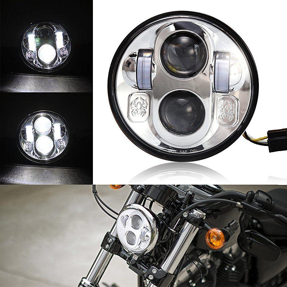 2017 5.75 inch headlight bulb 5 3/4 high & low beam led headlamp