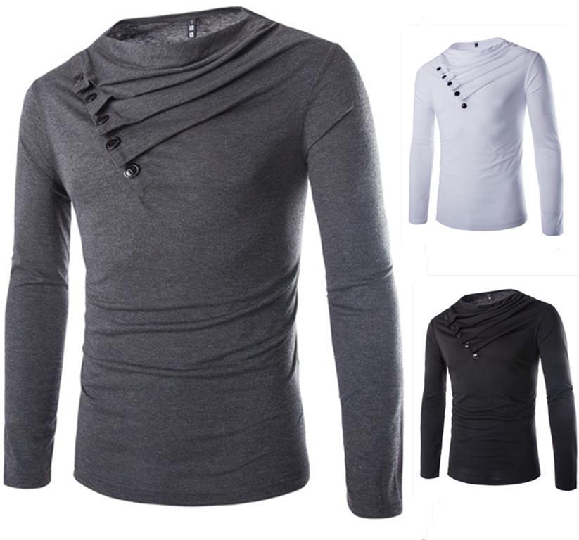 Langärmliges T-Shirt Stapelentwurf der heißen Art Langhülse T-Shirt der Art und Weise dünne passende Langhülse T-Shirt Grundierungst-shirt