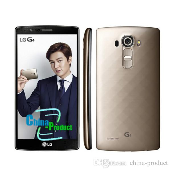 "Original LG G4 Quad Core 4G LTE H815 5.5"" Inch Mobile Phone 32GB/3GB Android 5.1 Refurbished GPS WIFI"