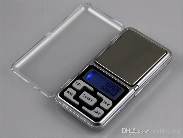 ميني جيب مقياس الالكترونية 200 جرام 0.01 جرام مجوهرات الماس مقياس ميزان مقياس شاشة lcd مع حزمة البيع بالتجزئة