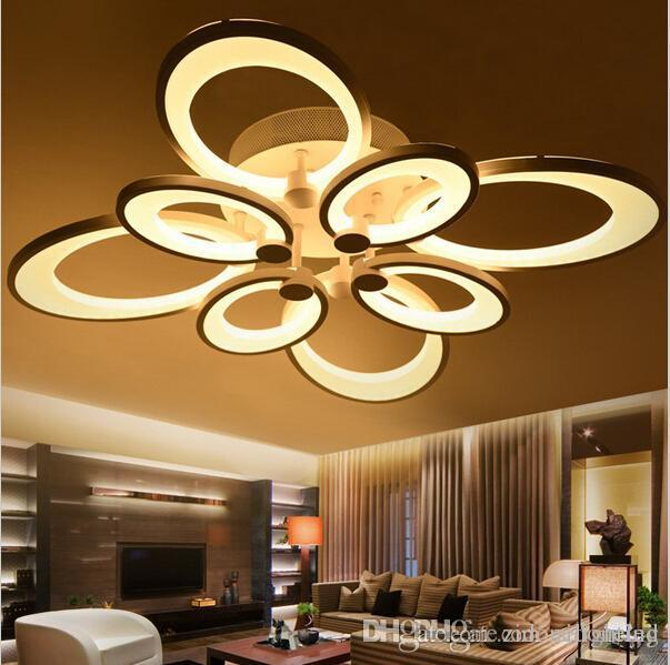 best service 3a0fd eade0 dimmable led ceiling lights butterfly chandeliers flush mount ceiling  lights 3/6/8 heads light ceiling led kitchen lighting fixture