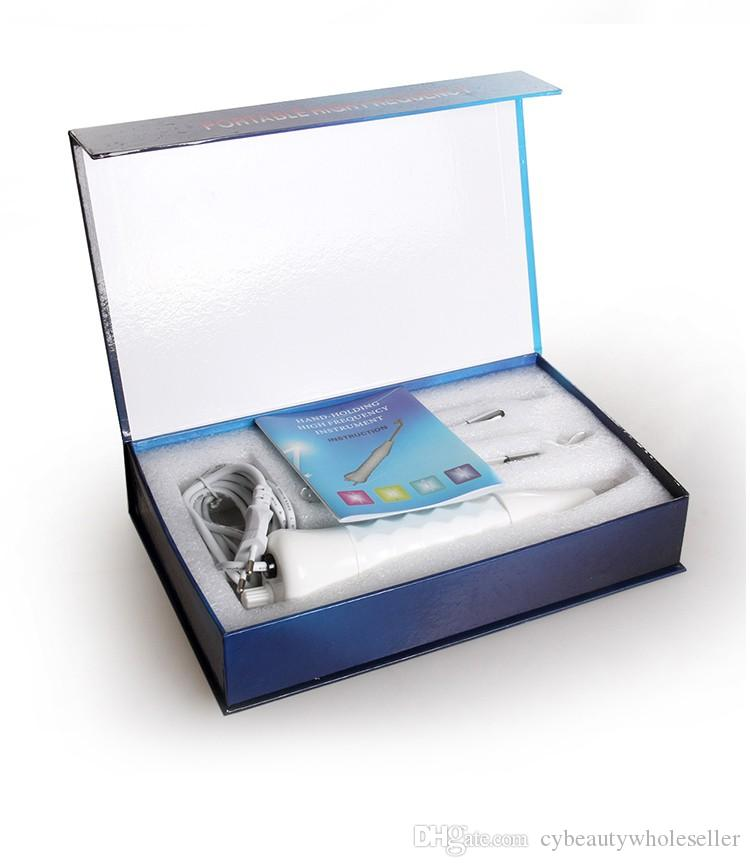 Elettrodo ad alta frequenza Tubo di vetro Elettroterapia D'arsonval Darsonval Cura della pelle Salone di bellezza Salone di bellezza Acne Remover