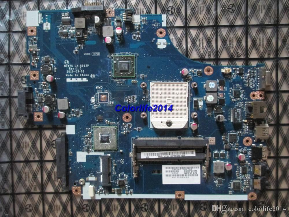 for Acer 5551 5551G LA-5912P MB.BL002.001 MBBL002001 DDR3 laptop motherboard fully tested & working perfect