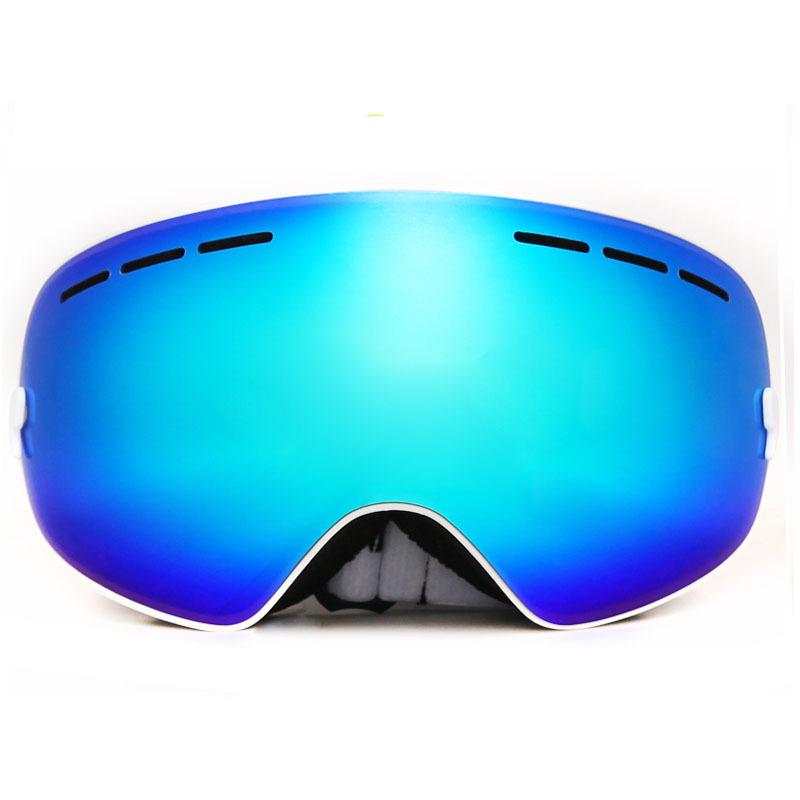 ecd61337349 2019 Wholesale Top Quality Large Spherical Panorama Double Layer UV 400  Anti Fog Ski Glasses Goggles Drop Shipping From Toptactical