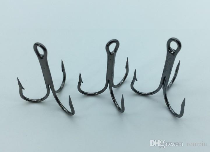 Оптовая продажа 500 шт. / Лот с круглым крюком Крюк для рыбалки Крючки Высокоуглеродистая сталь Отобранутый размер 2 # 4 # 6 # 8 # 10 # 12 # 6 # 8 # 10 # 12 #