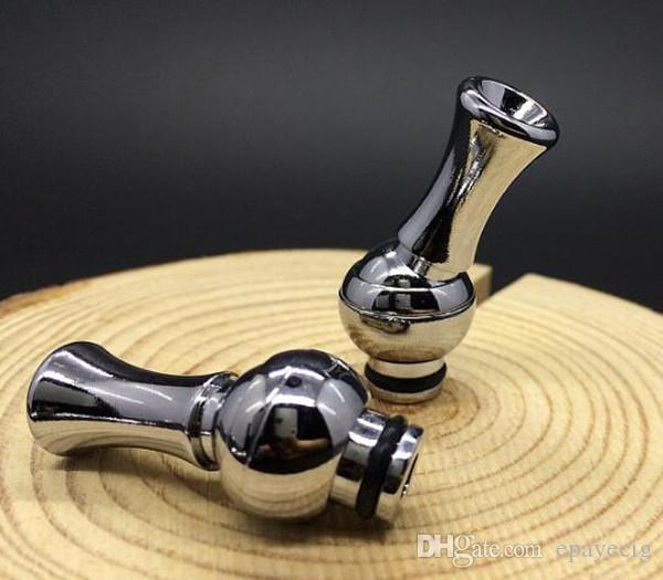 20 PZ metallo Knucklehead Rotating 510 Drip Tip 360 ° Tilt Swivel bocchino regolabile e sigaretta atomizzatore rda articoli di prezzi più bassi
