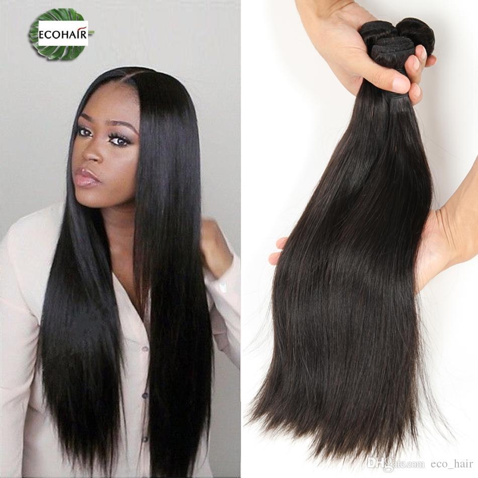 Wholesale Brazilian Hair Extension Straight 5 Bundles Mink Brazilian