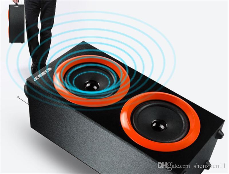 2016 Taşınabilir Kablosuz Bluetooth Hoparlörler Açık Spor Handsfree Mic Desteği TF Kart FM Radyo ile Lüks Loud Hoparlörler MIS130