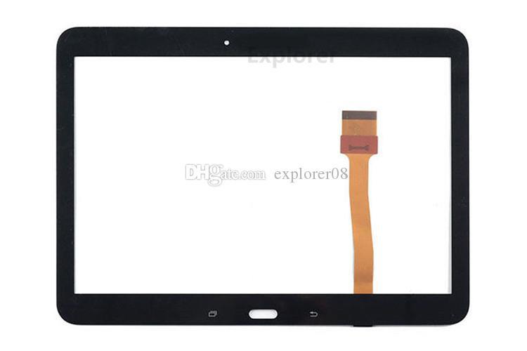 Original neue Touchscreen Digitizer Front äußere Glasscheibe mit Vorinstallation Klebstoff für Samsung Galaxy Tab 4 10,1