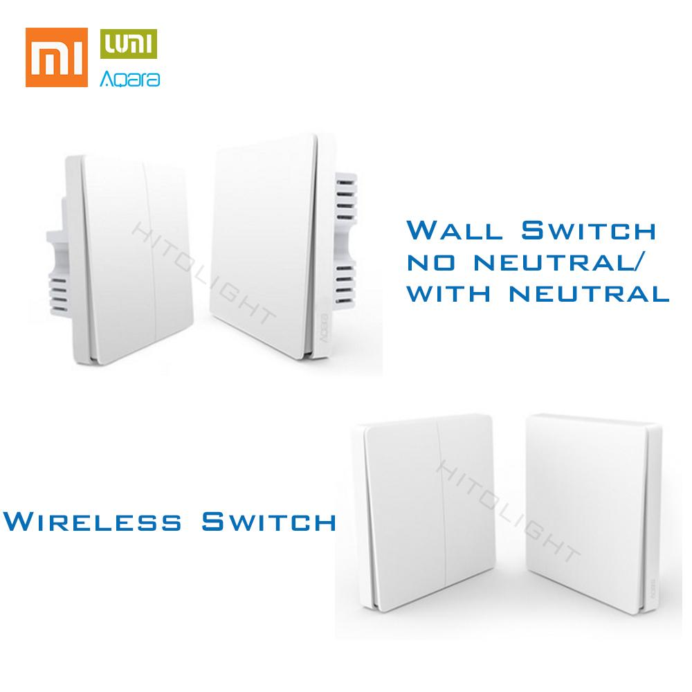 2019 Xiaomi Aqara Zigbee Smart Light Control Wireless Wall