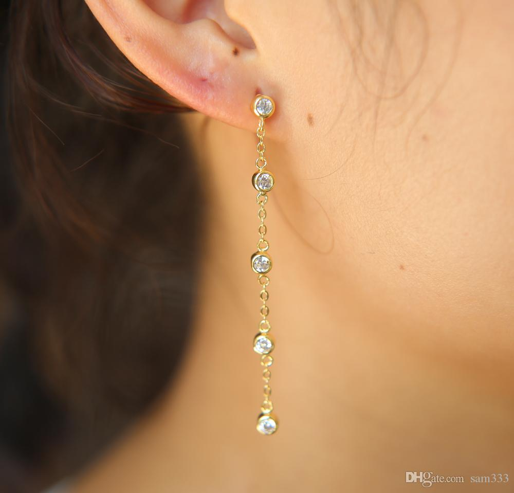 Cheap Pack Wholesale Fashion Stud Earrings Wholesale Fashion Circle Long  Earrings 474fdd6287a0