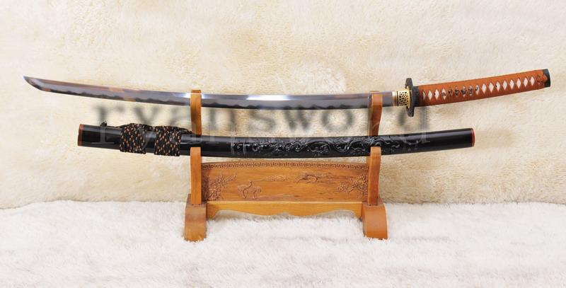 High Quality Handmade Dragon Samurai Sword With Combined Materials Blade And Polished