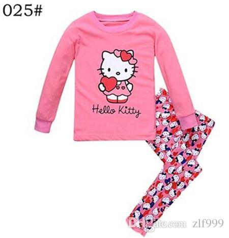 2 7 Years Kid Pajama Winter Children S Pajamas Sets Home Leisure Boys Girl  Cartoon Cute Cotton Long Sleeve Pyjamas Sleepwear Kids Personalized  Christmas ... 9f978c291