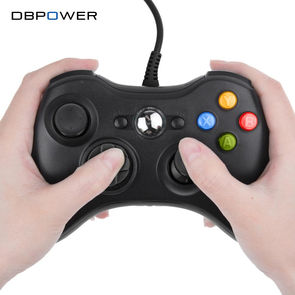 Wholesale Dbpower Usb Wired Joypad Gamepad Black Controller For Xbox ...