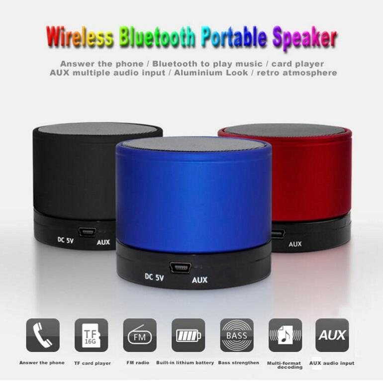 2019 DC 5V Mini S10 Portable Wireless Bluetooth Outdoor