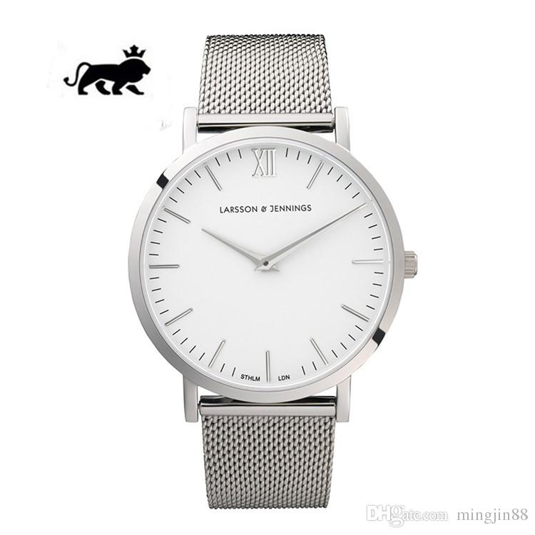 234fdc4025a4b Luxury Brand LARSSON JENNINGS LJ Quartz Watches Stainless Steel ...