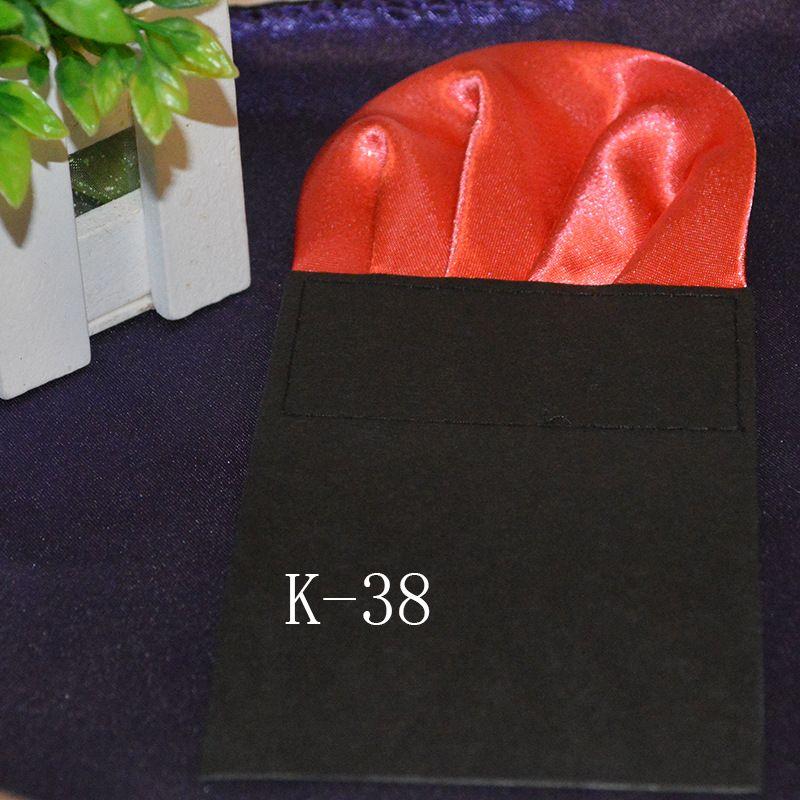 2016 HOT 포켓 스퀘어 38 색 솔리드 포켓 수건 남성 정장 포켓 행운의 칵테일 파티 웨딩 파티 크리스마스 무료 페덱스 TNT