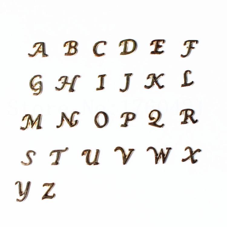 Encantos flotantes / Comercio al por mayor de alta calidad mix carta cristal encantos diy A-Z alfabeto medallones flotantes encantos para living locket de cristal