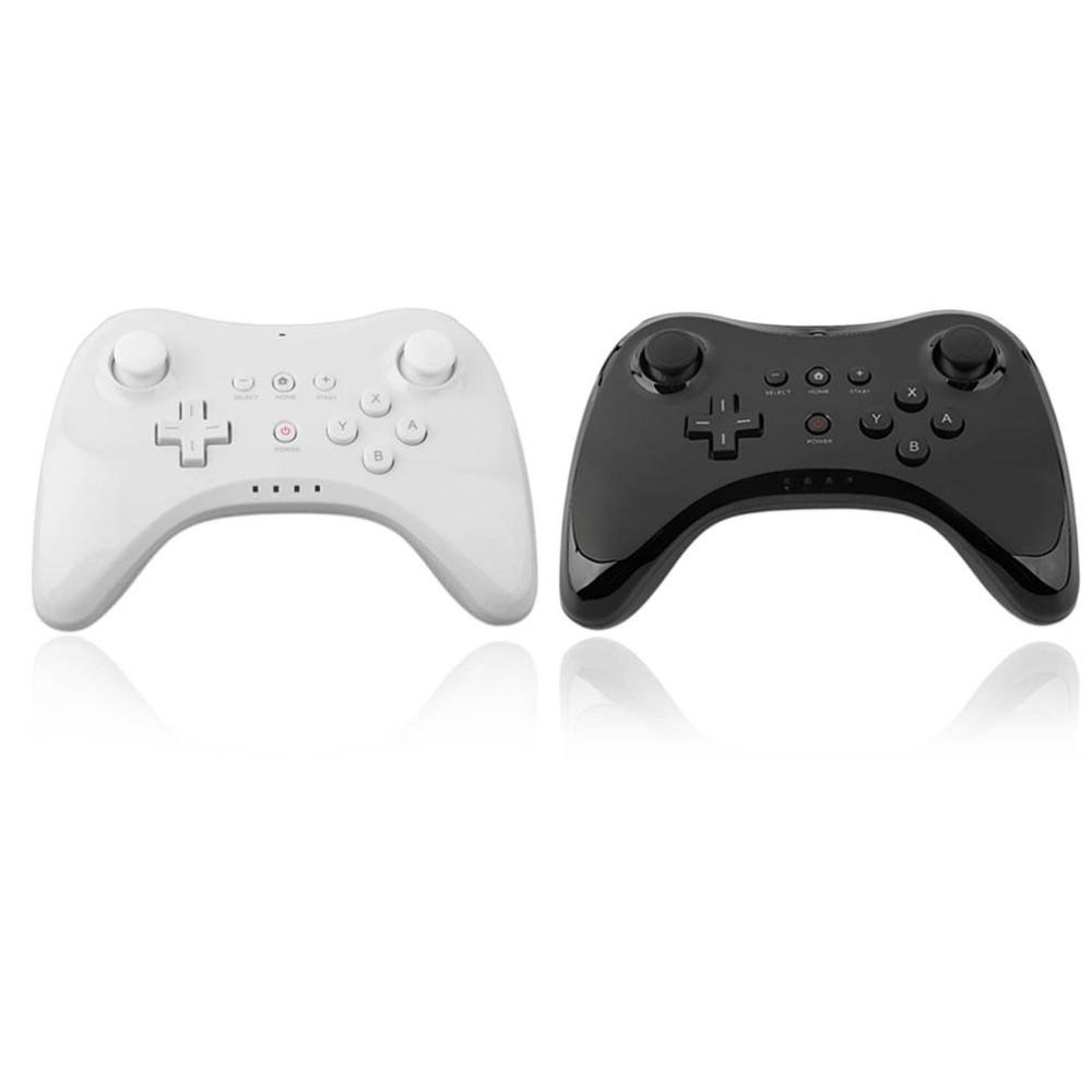 WUP-005 Dual Analog Bluetooth Wireless Remote Controller USB WII U Pro Game Gaming Gamepad for for Nintendo Wii U WiiU White Black Wholsale