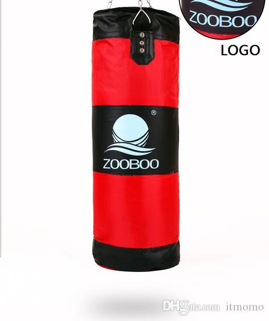 760605589 Compre Zooboo Genuine 60 100 Cm De Treinamento De Fitness Mma Saco De Boxe  Gancho Pendurado Saco De Boxe Kick Luta Saco De Areia Soco Soco Saco De  Areia De ...