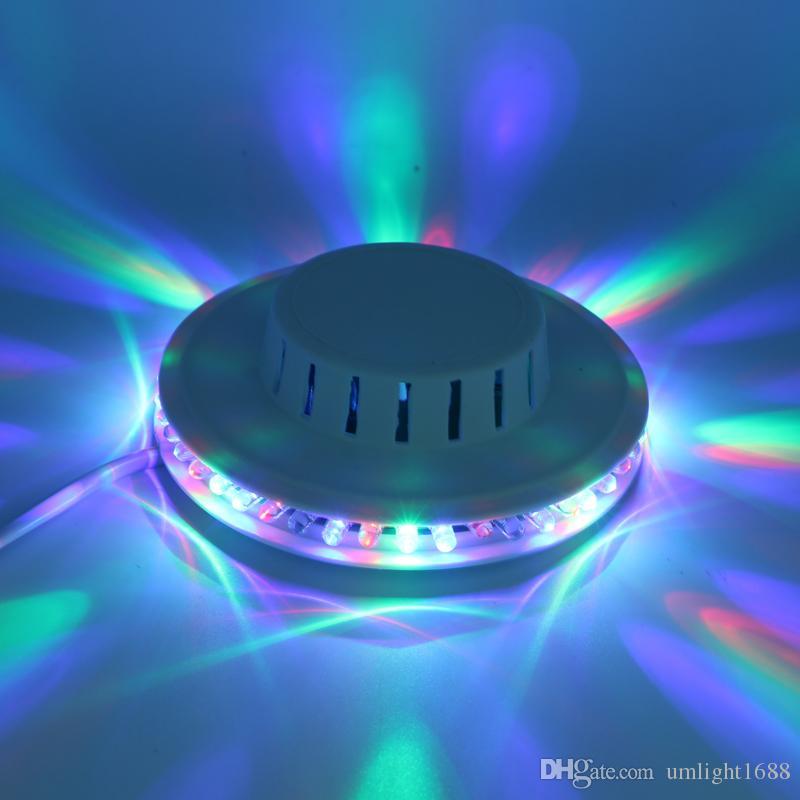 50 stücke dropship bunte sonnenblume led bühnenlicht dynamische magie beleuchtung rgb effekt disco dj party ktv raum bühnenwand dekorative lampe
