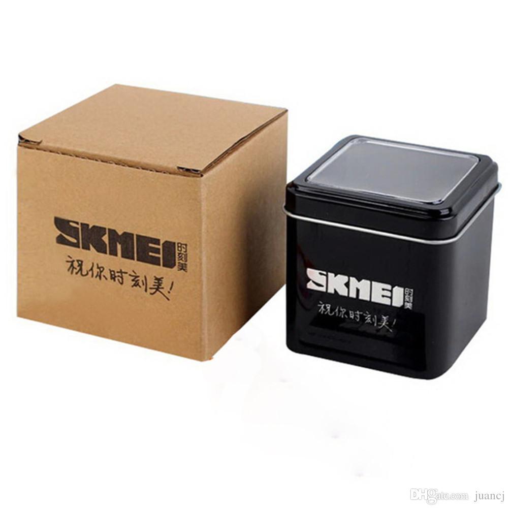 503da39b5f5 Compre SKMEI Top Marca Nova Moda Relógios Caixas De Luxo Caixa De Marca  Para Relógios SKMEI Relógios De Pulso Caixa 01 De Juancj