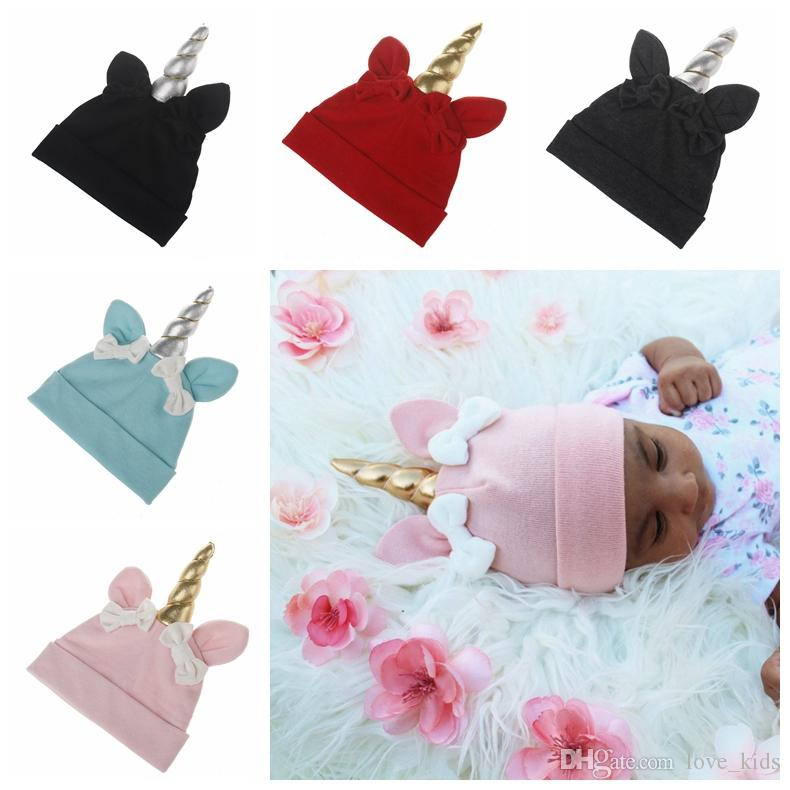 2019 Autumn Toddler Winter Hats Wholesale Baby Unicorn Fashion Hats Caps  Girls Ears Beanie Hats Babies Bonnet Top Hat Baby Photography Props From  Love kids 8bb72bf28d4