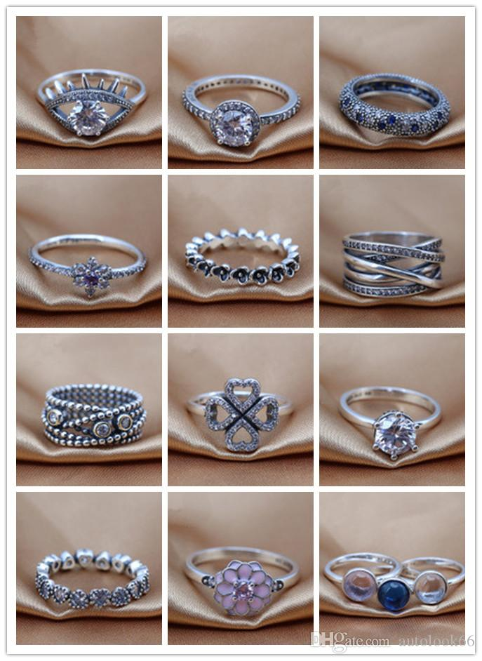 All'ingrosso 2016 nuova Europa S925 Ale anello il giorno di San Valentino principessa corona sterling nastro ALE anelli