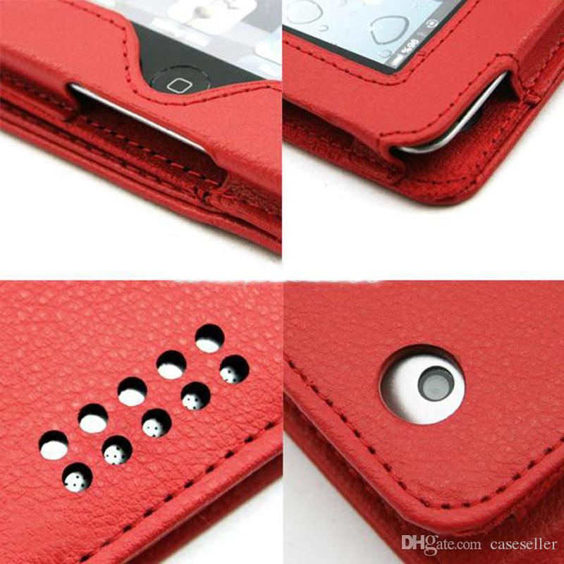 """Christmas 9.7""""Wireless Bluetooth Leather Case Cover with Keyboard for 9.7 inch iPad2 iPad3 Tablet PC"""