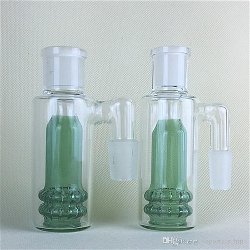 2016 mini ash catcher for glass bongs bowl water pipes 14mm 18mm male mini  Ashcatcher bong dab oil rig bird nest smoking accessory rigs