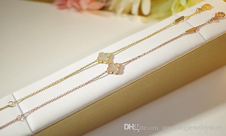 Nueva llegada material de latón de calidad superior y marca mini flor colgante pulsera con piedra natural para mujeres regalo de boda regalo de la joyería f