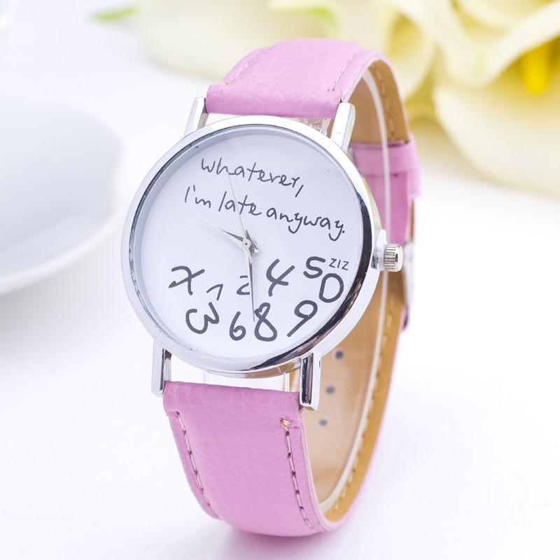 2016 New Fashion Women Casual Watch Simple Andpractical For Girls ...