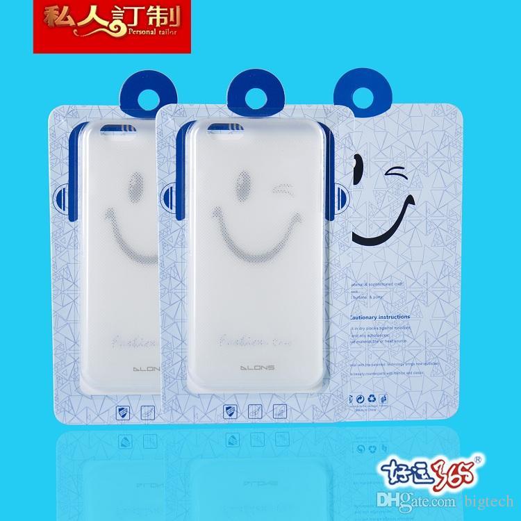 500 adet Toptan Perakende Moda Ambalaj Telefon Kılıfı Için Not 7 s7 kenar artı Samsung on5 iPhone 6 s iPhone 6 artı