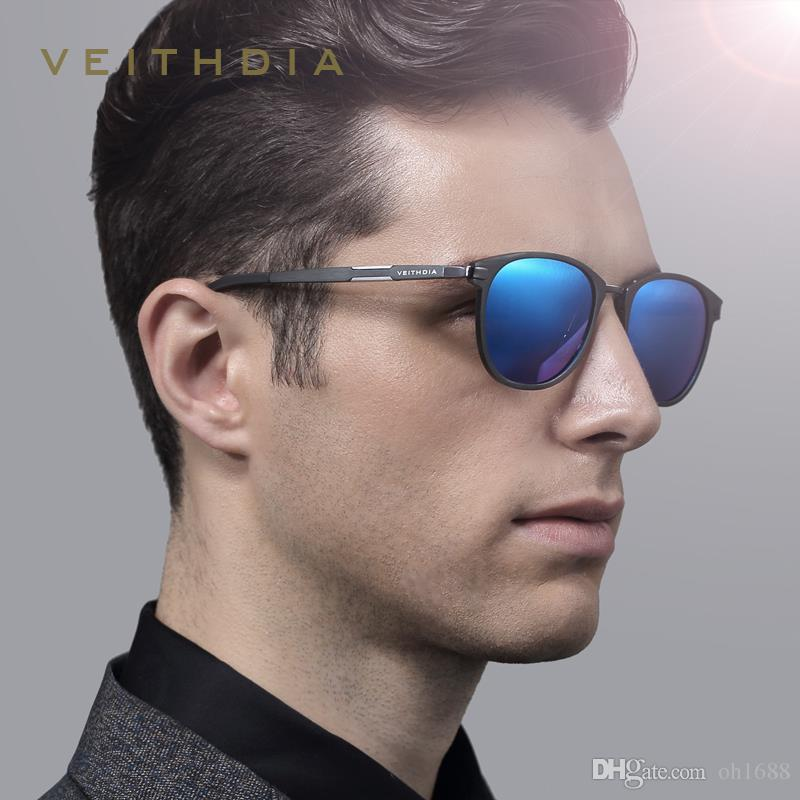 c871a7fb34ca1 VEITHDIA Unisex Retro Aluminum Magnesium Sunglasses Men Polarized Lens  Vintage Eyewear Accessories Sun Glasses Oculos De Sol 6680 Sunglasses  Online ...