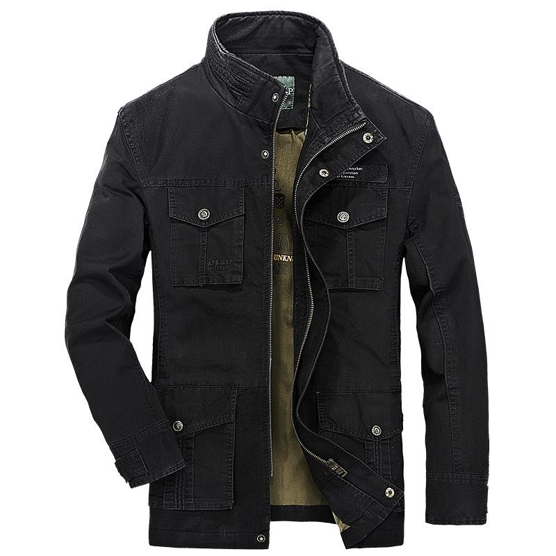 Mens Tactical Jacket Online | Black Mens Tactical Jacket for Sale