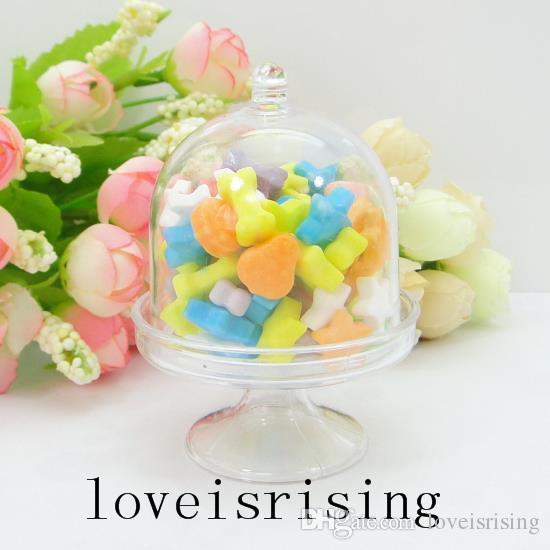Vendita calda - / Bella mini bianco chiaro / colore rosa scatole di caramelle Scatole di favore di cerimonia nuziale le forniture del partito dell'acquazzone di bambino