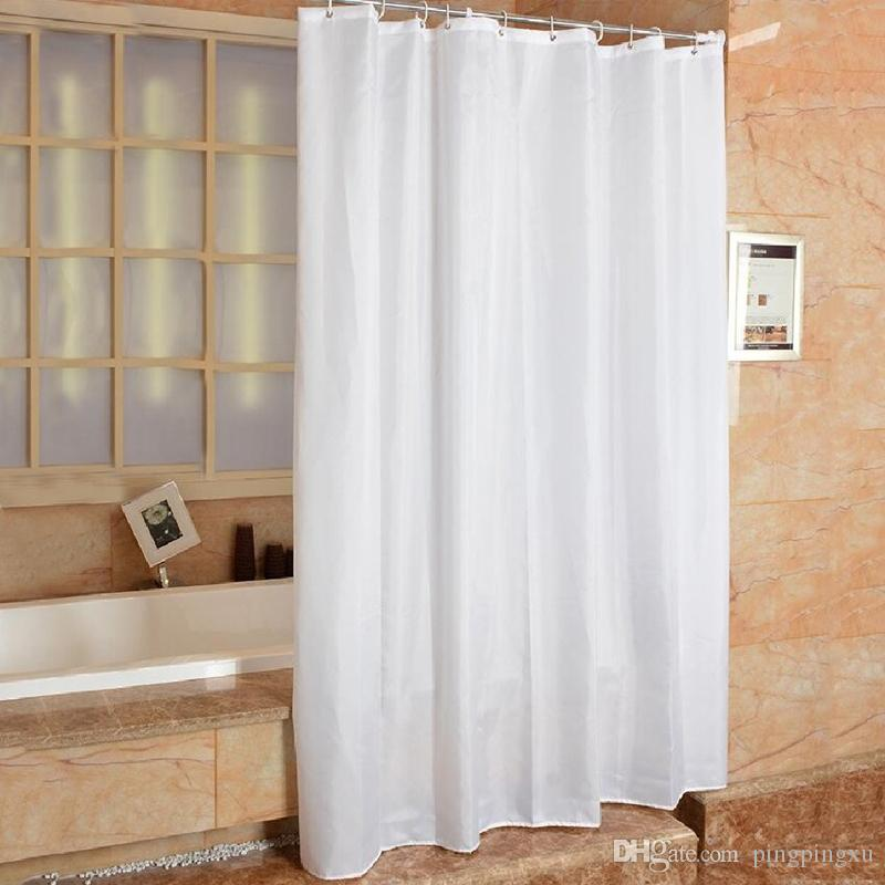 2019 Mildew Free Waterproof Bathroom Shower Curtain With 12 Hooks 53 69 InchesEasy To Care Machine Washableshower Or Rings Attache From