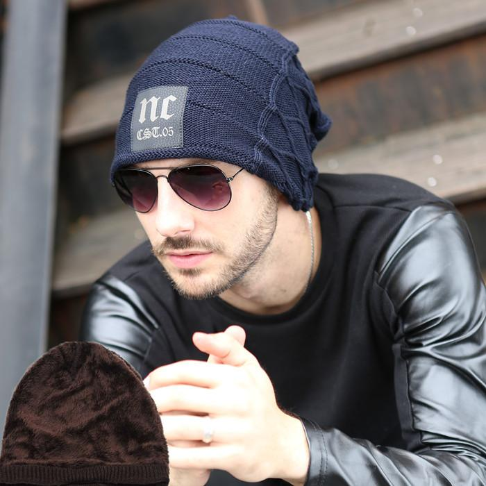 74c09cca631 Wholesale-New Winter Fashion Casual Warm Hat Hot Hat for Man the ...