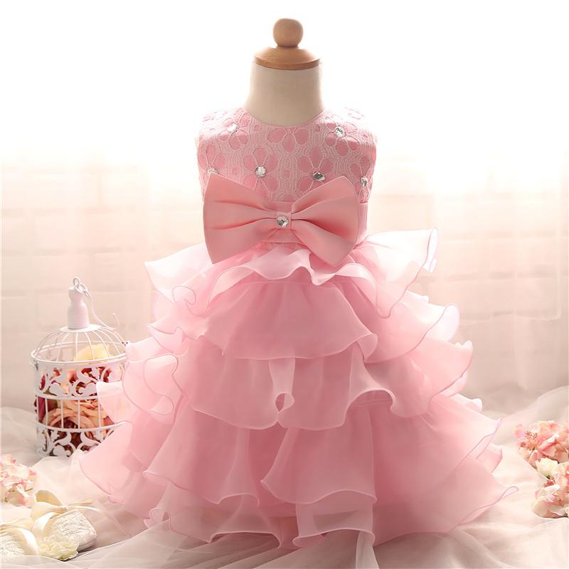 Wholesale- Brand Summer 2017 Infant Girl Dress Kids Wedding Party ...